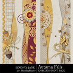 Autumn Falls Border Pack-$1.99 (Lindsay Jane)
