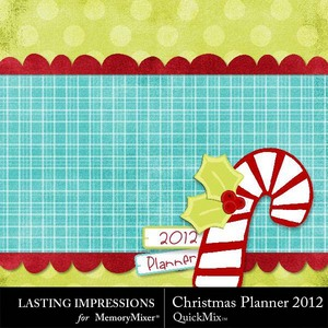 Christmas planner 2012 medium