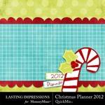 Christmas planner 2012 small