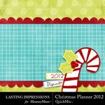 Christmas Planner 2012 QuickMix-$2.99 (Lasting Impressions)