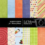 Lil' Mister Paper Pack-$4.00 (Karen Lewis)