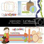 Lil' Mister Embellishment Pack-$4.00 (Karen Lewis)