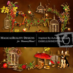 Inspired By Autumn Cluster Pack-$1.99 (MagicalReality Designs)