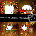 Inspired By Autumn QUICK PAGE QuickMix 2-$3.49 (MagicalReality Designs)