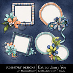 Extraordinary You Cluster Pack-$2.49 (Jumpstart Designs)