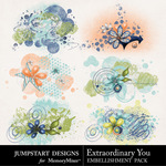 Extraordinary You Scatter Pack-$1.79 (Jumpstart Designs)