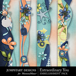 Extraordinary You Border Pack-$2.99 (Jumpstart Designs)