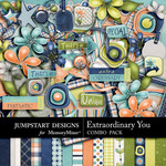 Extraordinary You Combo Pack-$4.79 (Jumpstart Designs)
