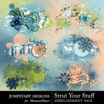 Strut Your Stuff Scatters Pack-$2.49 (Jumpstart Designs)