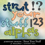 Strut Your Stuff Alphabet Pack-$2.99 (Jumpstart Designs)