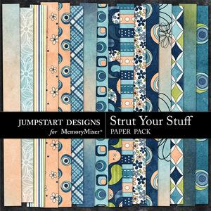 Strut your stuff patterned pp medium