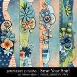 Strut Your Stuff Border Pack-$2.49 (Jumpstart Designs)