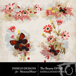 The Beauty of Fall Accent Pack-$1.99 (Indigo Designs)