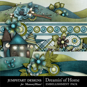 Dreamin of home borders medium