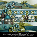 Dreamin of Home Border Pack-$2.49 (Jumpstart Designs)