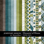 Dreamin of Home Paper Pack-$2.99 (Jumpstart Designs)