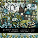 Dreamin of Home Embellishment Pack-$3.49 (Jumpstart Designs)