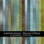 Dreamin of Home Add On Paper Pack-$2.99 (Jumpstart Designs)