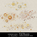 Fall Beauty Scatterz Pack-$1.99 (Lindsay Jane)