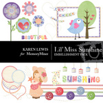 Lil Miss Sunshine Embellishment Pack-$3.49 (Karen Lewis)