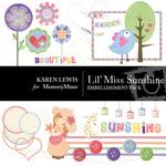Lil Miss Sunshine Embellishment Pack-$1.75 (Karen Lewis)