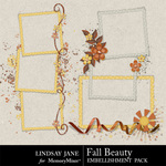 Fall Beauty Frame Pack-$2.49 (Lindsay Jane)