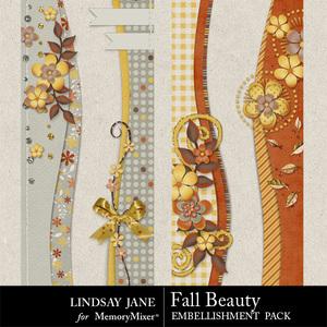 Fall beauty borders medium