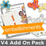 MemoryMixer V4 Add On Embellishment Pack-$9.95 (Lasting Impressions)