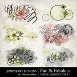Fun and Fabulous Scatters Pack-$1.99 (Jumpstart Designs)