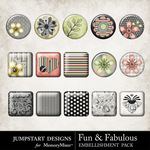 Fun and Fabulous Flair Pack-$1.99 (Jumpstart Designs)