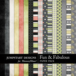 Fun and Fabulous Paper Pack-$2.99 (Jumpstart Designs)