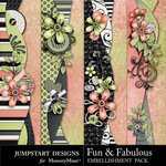 Fun and Fabulous Border Pack-$2.99 (Jumpstart Designs)
