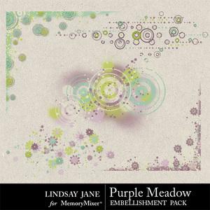 Purple meadow scatterz medium