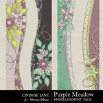 Purple Meadow Border Pack-$1.99 (Lindsay Jane)