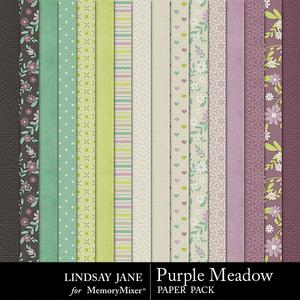 Purple meadow pp medium
