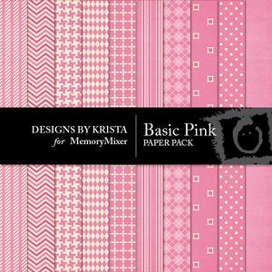 Basic pink pp medium