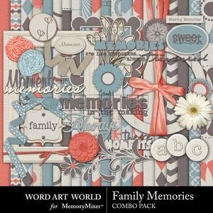 Family memories combo medium