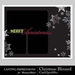 Christmas blizzard card qm small