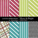Merry and Bright Paper Pack-$2.49 (Lasting Impressions)