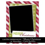 Merry Christmas Card QuickMix-$2.99 (Lasting Impressions)