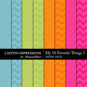 My 10 favorite things pp 1 medium