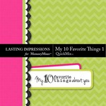 My 10 Favorite Things QuickMix 1-$1.49 (Lasting Impressions)