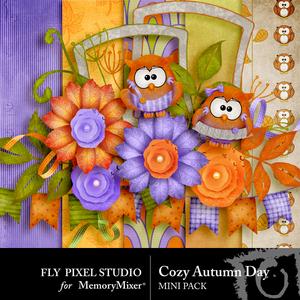Cozy autumn day mini add on medium