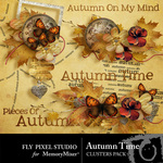 Autumn Time Cluster Pack-$1.99 (Fly Pixel Studio)