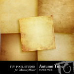 Autumn Time Paper Pack-$2.99 (Fly Pixel Studio)