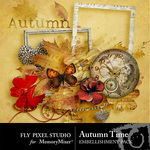 Autumn Time Embellishment Pack-$1.50 (Fly Pixel Studio)