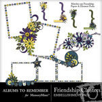 Friendship clusters small