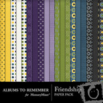 Friendship Paper Pack-$3.99 (Albums to Remember)