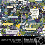 Friendship Embellishment Pack-$3.99 (Albums to Remember)