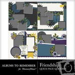 Friendship QUICK PAGE QuickMix-$3.49 (Albums to Remember)